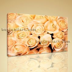 """Large Framed Contemporary Abstract Rose Flower Floral Painting Print on Canvas Extra Large Wall Art, Gallery Wrapped, by Bo Yi Gallery 36""""x24"""". Large Framed Contemporary Abstract Rose Flower Floral Painting Print on Canvas Subject : Rose Flower Style : Contemporary Panels : 1 Detail Size : 36""""x24""""x1 Overall Size : 36""""x24"""" = 91cm x 61cm Medium : Giclee Print On Canvas Condition : Brand New Frames : Gallery wrapped [FEATURES] Lightweight and easy to hang. High revolution giclee..."""