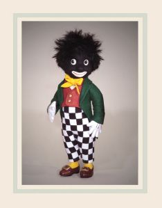 During the first half of the twentieth century, the Golliwog doll was a favorite children's soft toy in Europe. Only the Teddy Bear exceeded the Golliwog in popularity