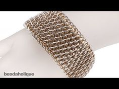 ▶ How to Make Dragonscale Chain Maille - YouTube