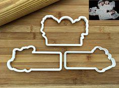 Set of 3 Snowmen Plaque Cookie Cutters