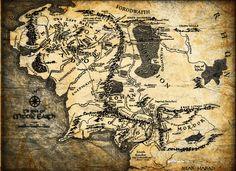 der Herr der Ringe, Karte, Jrr Tolkien, Mittelerde, Mittelerde wallpaper