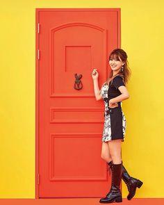 Twice [ Knock-Knock ] - Jihyo Twice Knock Knock, Park Ji Soo, Twice Korean, Twice Jihyo, Myoui Mina, Minatozaki Sana, Im Nayeon, Hirai Momo, G Friend