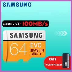 SAMSUNG Micro SD 64gb Memory Card Class10 SDXC UHS-I SD Cards Trans Microsd Cartao de Memoria Tarjeta TF Card For Mobile Phone