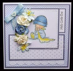 Tilly's Crafts: Baby Blue