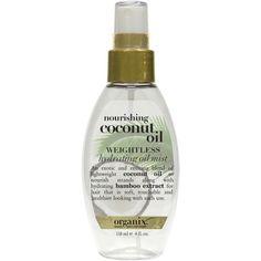 Organix Nourishing Coconut Oil Weightless Hydrating Oil Mist Ulta.com - Cosmetics, Fragrance, Salon and Beauty Gifts