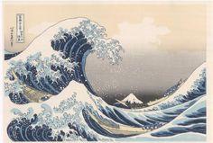 神奈川沖浪裏 Hokusai: Kanagawa-oki / The Great Wave off Kanagawa [1]