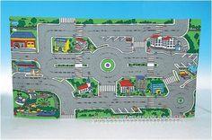 MOLTÓ 5551- MOLTÓ TAPIZ CIRCULACIÓN Y TRÁFICO, INCLUYE 24 SEÑALES DE TRÁFICO, IndalChess.com Tienda de juguetes online y juegos de jardin