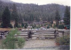 """The Ponderosa Ranch Theme Park based on the 1960's television western show """"Bonanza"""""""