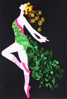 Masterpiece of Farah's collection - 'Dancing Fairy'. Photo - Farah Al Fardh