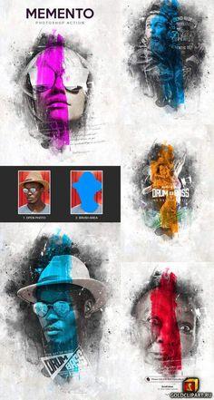 Memento – Photoshop Action 23617725 – New Trends Adobe Photoshop, Advanced Photoshop, Best Photoshop Actions, Effects Photoshop, Photoshop Photos, Photoshop Design, Photoshop Tutorial, Photoshop For Photographers, Photoshop Photography
