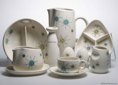Authentic Franciscan Ware produced by Gladding, McBean & Co. have been experiencing a resurgence in popularity. We're lucky enough to have some of these pieces and we knew you'd want to see them!