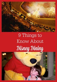 9 Things to Know About Disney Dining http://www.familytravelmagazine.com/9-things-know-disney-dining/?utm_campaign=coschedule&utm_source=pinterest&utm_medium=Jodi%20Grundig%20(Family%20Travel%20Magazine)&utm_content=9%20Things%20to%20Know%20About%20Disney%20Dining