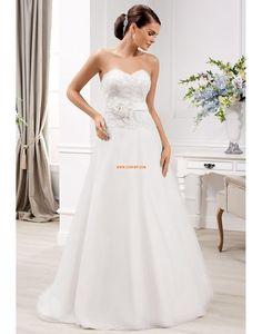 Frühling 2014 Herz-Ausschnitt Chic & Modern Brautkleider 2014