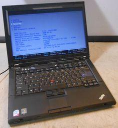 LENOVO Thinkpad T61 INTEL CORE 2 DUO @ 1.80GHz 1GB RAM LAPTOP COMPUTER  no hdd