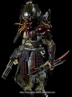 All for Kung Fu, Tai Chi & Martial Arts — Samurai Predator Original Predator:. Alien Vs Predator, Predator Mask, Ninja Assassin, Dragons, Character Art, Character Design, Samurai Armor, Fantasy Fiction, Xenomorph