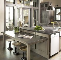 add stainless countertops