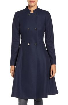 2ff0ec659536 TED BAKER Double Breasted Wool Blend Coat.  tedbaker  cloth   Ted Baker  Fashion