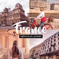 France Lightroom Preset (Mobile + Desktop) | Aesthetic Preset | Vlogger & Blogger Preset | Travel Preset  #dreamypresets #aestheticpresets #lightroompresets #photofilters #presetpack #vintagepresets #lightroomfilter #etsyshopowner #instagramfilters #cutepresets #vloggerpresets #travelpresets #bloggerpresets #francelightroompreset Vintage Lightroom Presets, 90s Aesthetic, Your Photos, Desktop, France, Travel, Inspiration, Instagram, Voyage