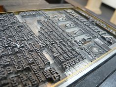 The Original Movable Type by purdman1, via Flickr