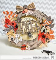 American Crafts Studio Blog: Altered Halloween Frame Tutorial by Patricia Roebuck