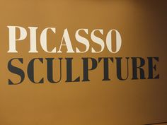The following is the Pablo Picasso Sculpture Exhibit at the Museum of Modern Art in New York. It is not a comprehensive display of every sculpture but a coll...