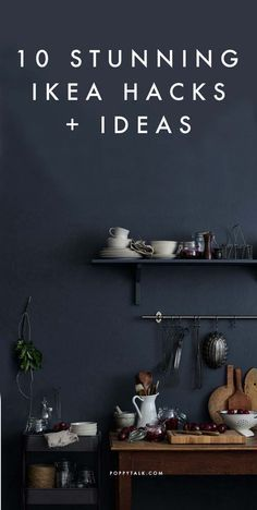 10 Stunning Ikea Hacks + Ideas to bookmark - all from stylists, architects and magazines | Poppytalk