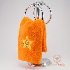 """""""In the name of Love, I will dry you!  You are purchasing a 100% cotton hand towel featuring a Sailor Moon Sailor Venus inspired design. Dress up your"""