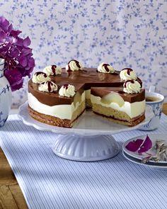 Unser beliebtes Rezept für Birnen-Schoko-Torte und mehr als 55.000 weitere kostenlose Rezepte auf LECKER.de.