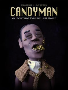 Horror Movie Madhouse: Alternative Horror Movie Posters Made From Clay