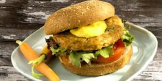 Honey Mustard Turkey Burgers