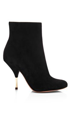 Shop Suede Ankle Boots by Rochas Now Available on Moda Operandi
