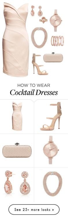 """""""For the Love of PINK"""" by carol-youssef on Polyvore featuring Giuseppe Zanotti, Michael Kors, Bottega Veneta, Bling Jewelry, Avenue and Anika and August"""