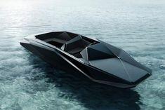 Zaha Hadid : Z-Boat, Speet Boat, Limited Edition, (460 000$)