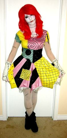Make a Sally Costume from the Nightmare Before Christmas | Sally ...