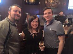 Andrew, Nicole & Nick enjoying #happyhour!