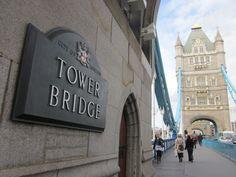 Puente de la Torre de Londres. Inglaterra