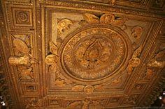 Ceiling detail, Louvre