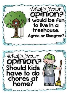 opinion writing....perfect for primary students...LOVE!