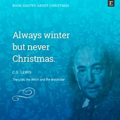 #book #quotes about #Christmas - C.S. Lewis