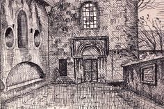 A drawing by an American, discovered in a Jerusalem junk shop, reveals German Jewry'slost grandeur