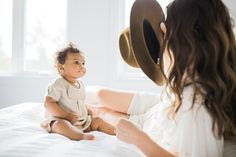 Intimate Mother and Daughter Photography Session By Elza Photographie/Fawn Over Baby