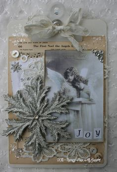 Angel Christmas Clipboard #sugarlumpstudios