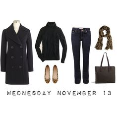 """OOTD 11/13/13"" by jcrewcrazy on Polyvore"