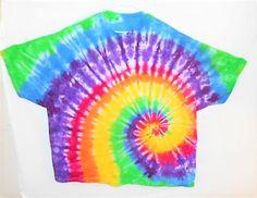 Plus size rainbow tie dye shirt// 5X tie dye// Gay Pride shirt// Rave clothing// Hippy Festival wear// Bright tie dye// Rainbow shirt// by FarmFreshTieDyeStore on Etsy