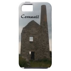 Wheal Peevor Cornish Tin Mine Photograph iPhone 5 Cover
