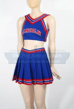 Kansas Hill (Mena Suvari) Cheerleading Costume (from the movie Sugar & Spice)