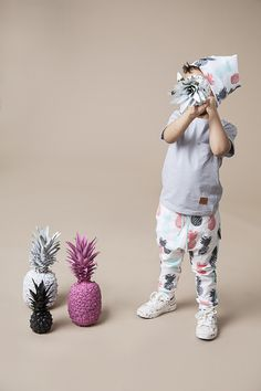 Children's clothing – mamatu PINEAPPLE kids/trousers – a unique product by mamatu via en.DaWanda.com