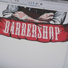 Wip #barbershopdesign by gajahnakal mail me on doaibv@gmail.com
