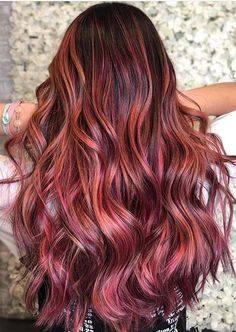 Just visit here to check out the latest shades of berry balayage hair colors for different hair lengths like medium or long hair looks. We assure you for modern hair looks by following this eye catching hair color in 2020. No doubt this one is best option for women to try for hot look. Hair Color Highlights, Hair Color Balayage, Modern Hairstyles, Cute Hairstyles, Honey Balayage, Medium Hair Styles, Long Hair Styles, Latest Hair Color, Hair Color Shades