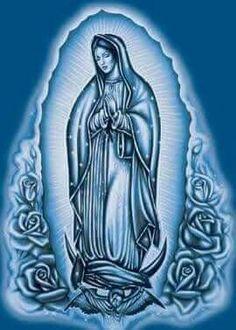 Animated Gif by Kathleen Badwan Arte Cholo, Cholo Art, Mary Tattoo, Tattoo Set, Drum Tattoo, Chicano Tattoos, Chicano Art, Blessed Mother Mary, Blessed Virgin Mary